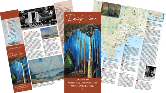 Emily Carr Guide and Map