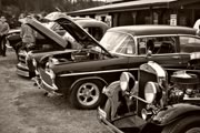 vintage cars at Metchosin Day 2012